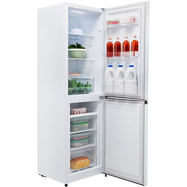 Fridgemaster MC55251M 50/50 Frost Free Fridge Freezer - White - MC55251M_WH - 2