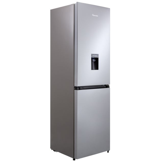 Fridgemaster MC55251MDS 50/50 Frost Free Fridge Freezer - Silver - A+ Rated - MC55251MDS_SI - 1