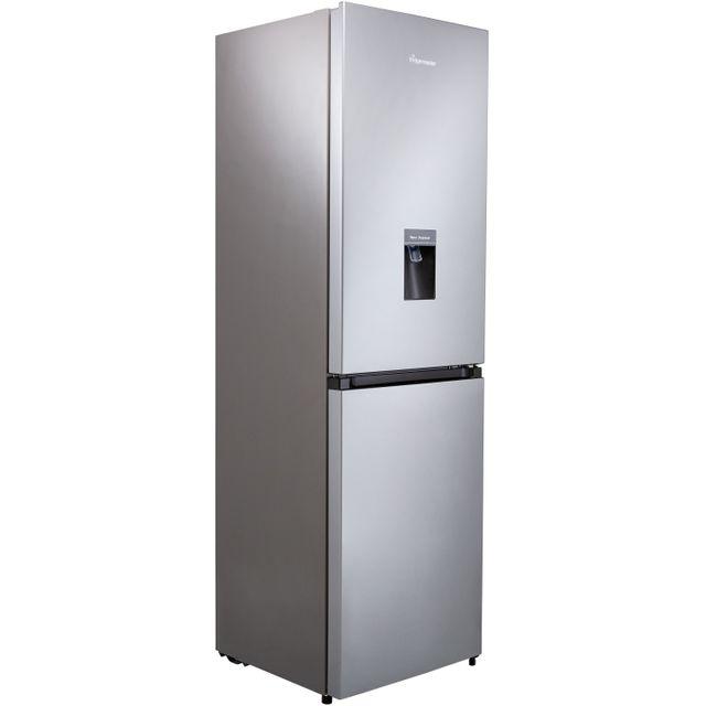 Fridgemaster MC55251MDS 60/40 Frost Free Fridge Freezer - Silver - F Rated