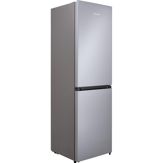 Fridgemaster MC55251MS Fridge Freezer - Silver - MC55251MS_SI - 1