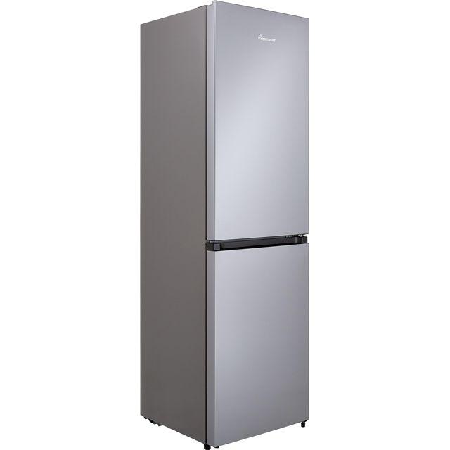 Image of Fridgemaster MC55251MS 50/50 Frost Free Fridge Freezer - Silver - A+ Rated