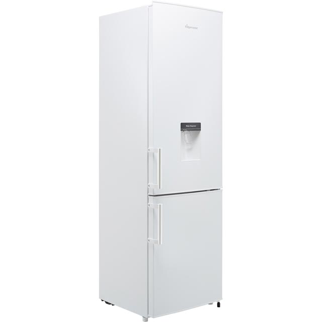 Fridgemaster MC55264D Fridge Freezer - White - MC55264D_WH - 1