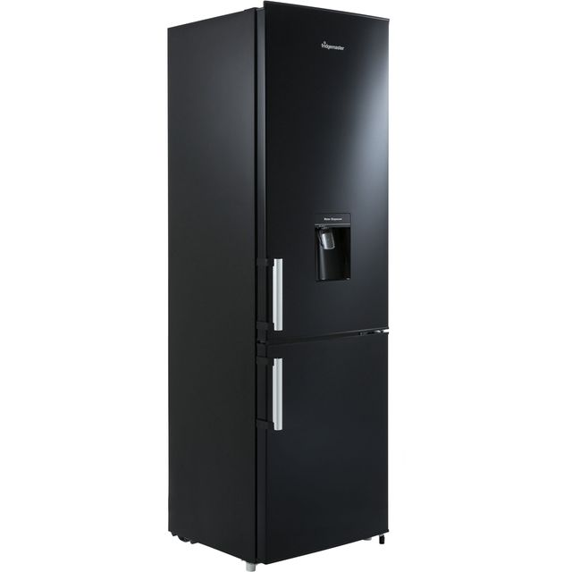 Fridgemaster MC55264DB 70/30 Fridge Freezer - Black - A+ Rated Best Price, Cheapest Prices
