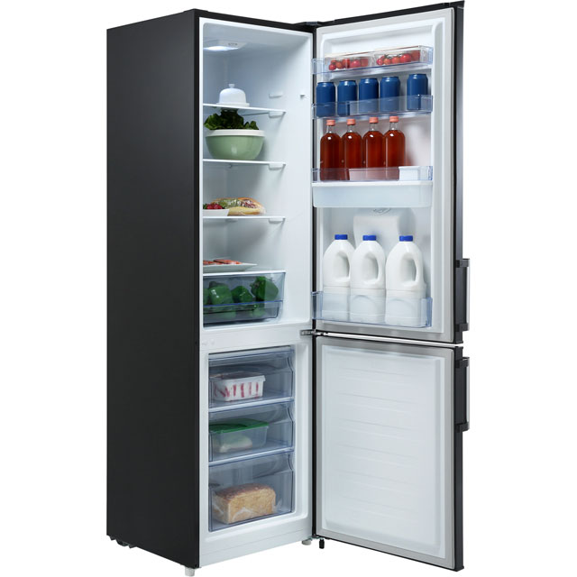 Fridgemaster MC55264DS 70/30 Fridge Freezer - Silver - MC55264DS_SI - 2