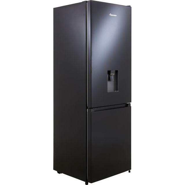Fridgemaster MC60287DB 70/30 Frost Free Fridge Freezer - Black - F Rated
