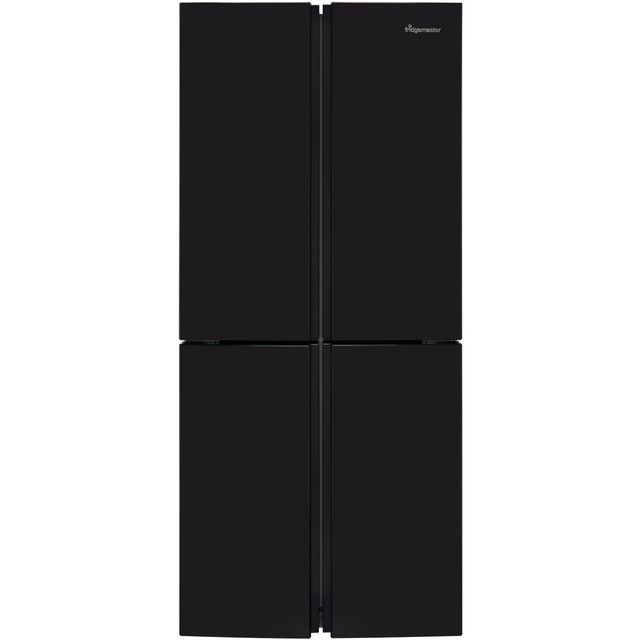 Fridgemaster MQ79394FFB American Fridge Freezer - Black - A+ Rated - MQ79394FFB_BK - 1
