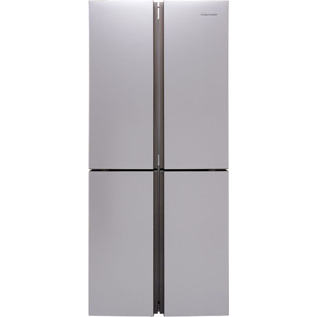 Fridgemaster MQ79394FFS American Fridge Freezer - Silver - F Rated