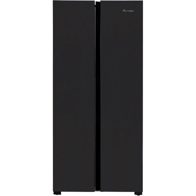 Fridgemaster MS83430FFB American Fridge Freezer - Black - MS83430FFB_BK - 1
