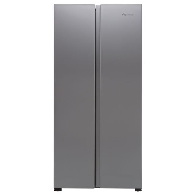 Fridgemaster MS83430FFS American Fridge Freezer - Silver - MS83430FFS_SI - 1