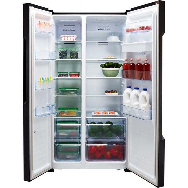 Fridgemaster MS91515DFF American Fridge Freezer - Silver - MS91515DFF_SI - 5
