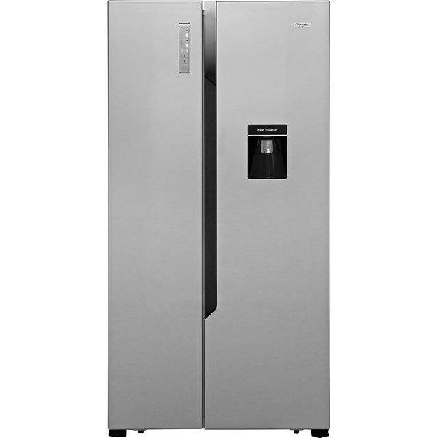 Fridgemaster MS91515DFF American Fridge Freezer - Silver - MS91515DFF_SI - 1