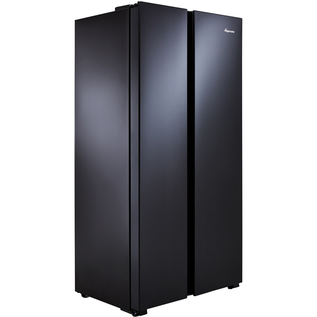 Fridgemaster MS91518FBS American Fridge Freezer - Black / Stainless Steel - MS91518FBS_BSS - 2