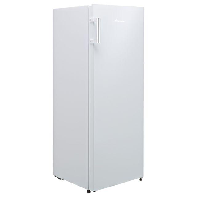 Fridgemaster MTL55242 143x55cm 242L Freestanding Upright Larder Fridge - White