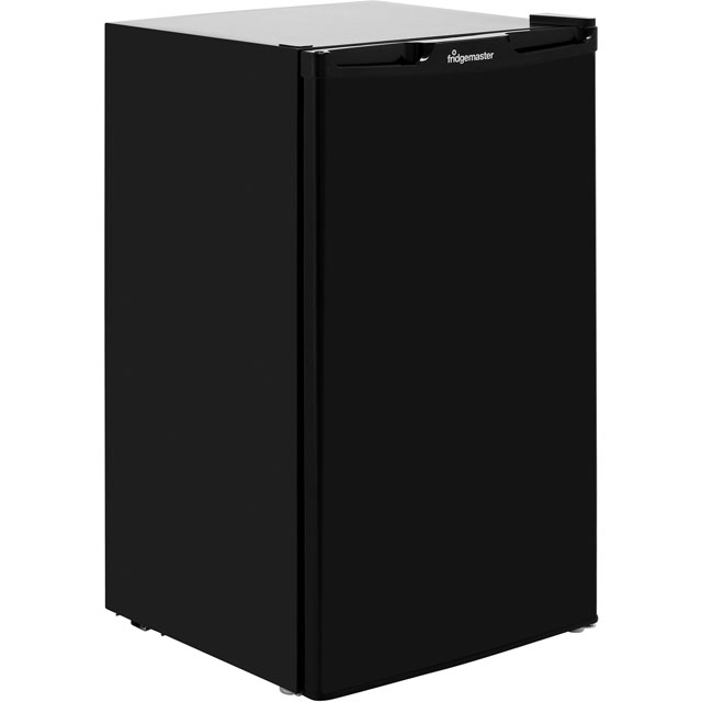 Fridgemaster MUL49102B Fridge - Black - A+ Rated - MUL49102B_BK - 1