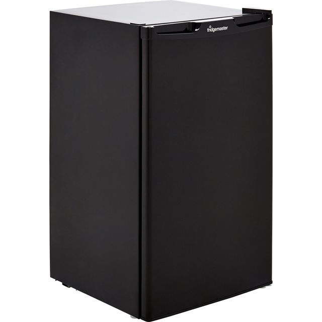 Fridgemaster MUL49102MB Fridge - Black - A+ Rated - MUL49102MB_BK - 1