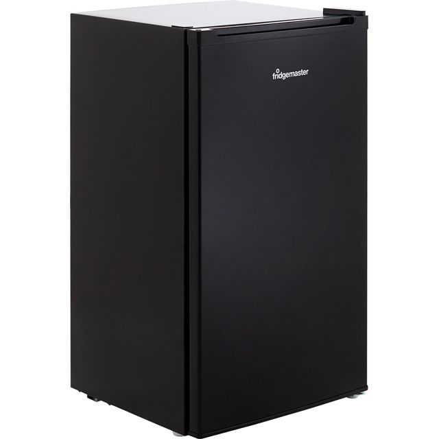 Fridgemaster MUR4892MB Fridge with Ice Box - Black - A+ Rated - MUR4892MB_BK - 1