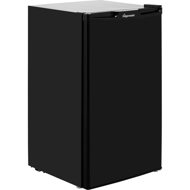 Fridgemaster MUZ4965B Under Counter Freezer - Black - A+ Rated - MUZ4965B_BK - 1