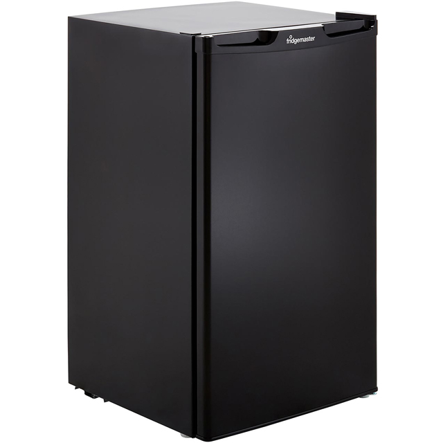 Fridgemaster MUZ4965MB Under Counter Freezer - Black - A+ Rated - MUZ4965MB_BK - 1