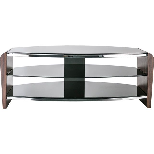 Alphason Francium FRN1100/3-W 3 Shelf TV Stand - Walnut - FRN1100/3-W - 1