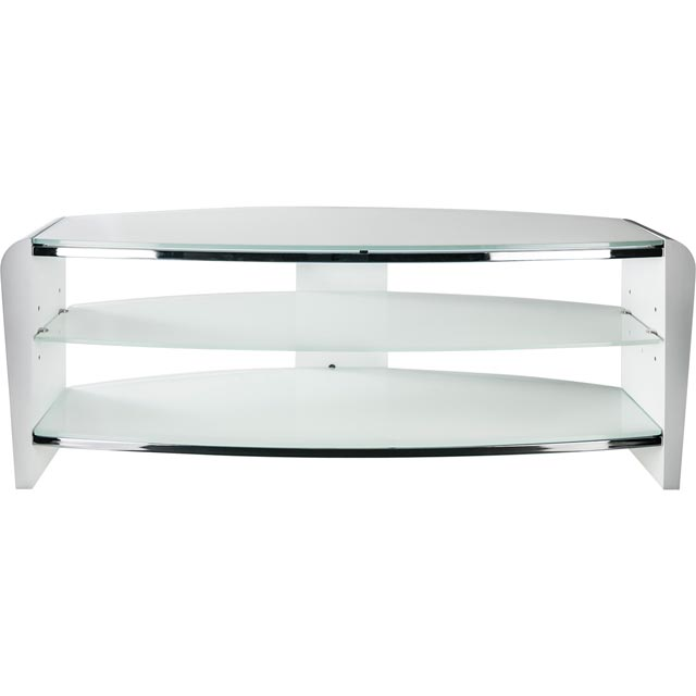 Alphason Francium FRN1100/ARCTIC 3 Shelf TV Stand - White - FRN1100/ARCTIC - 1