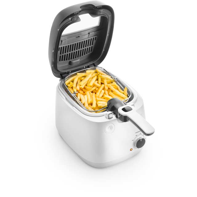 De'Longhi FS6025 Fryer in White