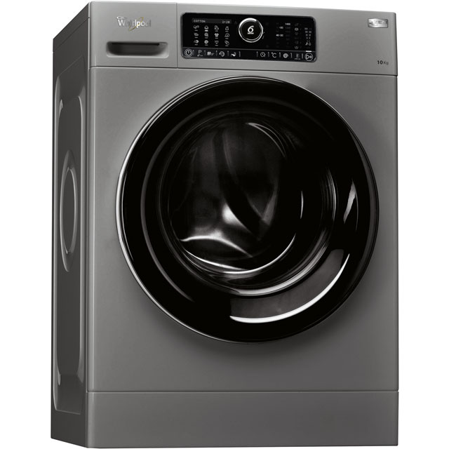 Whirlpool FSCR10432S 10Kg Washing Machine with 1400 rpm - Silver - A+++ Rated