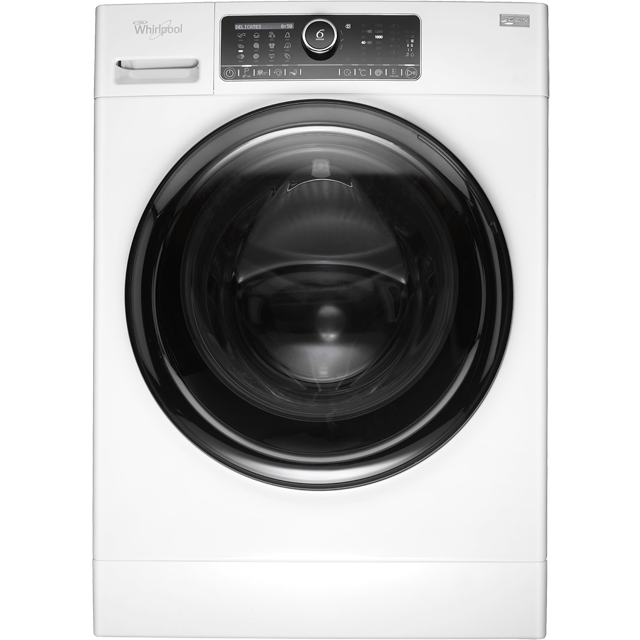 Whirlpool FSCR12430 12Kg Washing Machine with 1400 rpm - White - A+++ Rated - FSCR12430_WH - 1