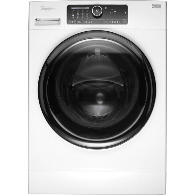 Whirlpool FSCR12430 12Kg Washing Machine with 1400 rpm - White - FSCR12430_WH - 1