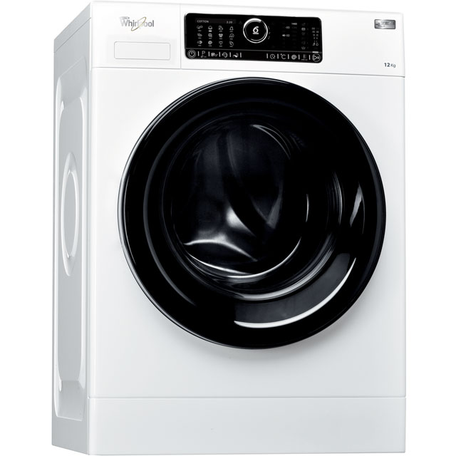 Whirlpool FSCR12441 Wifi Connected 12Kg Washing Machine with 1400 rpm - White - A+++ Rated
