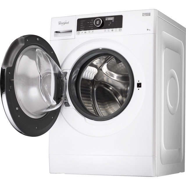 Whirlpool FSCR90420 9Kg Washing Machine with 1400 rpm - White - A+++ Rated - FSCR90420_WH - 1