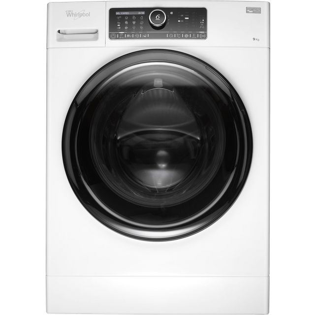 Whirlpool FSCR90430 9Kg Washing Machine with 1400 rpm - White - A+++ Rated - FSCR90430_WH - 1
