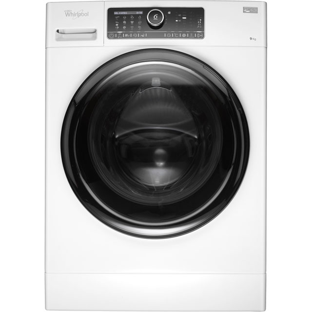 Whirlpool FSCR90430 9Kg Washing Machine with 1400 rpm - White - FSCR90430_WH - 1