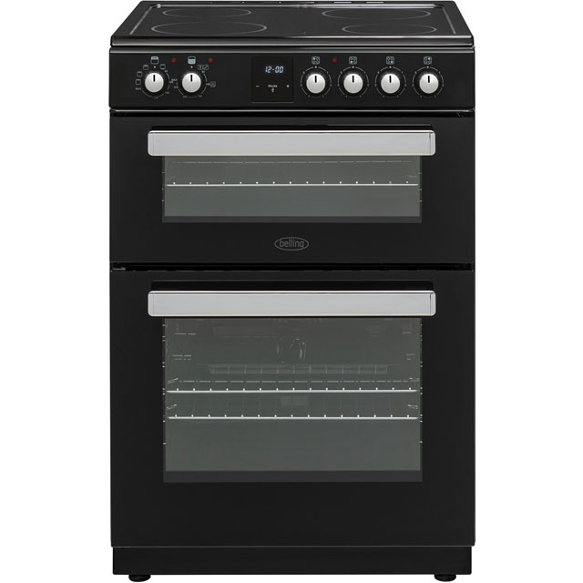 Belling FSE608DPc Electric Cooker - Black - FSE608DPc_BK - 1