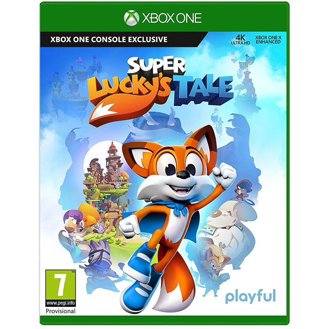 Super Luckys Tale for Xbox One [Enhanced for Xbox One X] Game