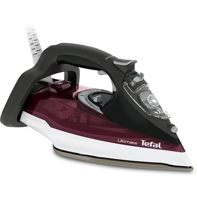 Tefal Ultimate Anti-Scale FV9788 3000 Watt Iron -Dark Red - FV9788_DR - 1