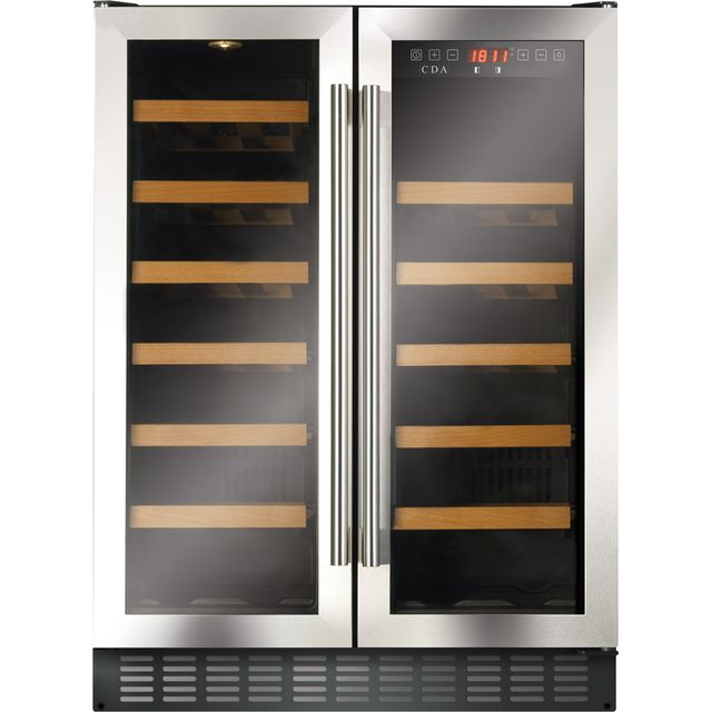 CDA FWC624SS Built Under Wine Cooler - Stainless Steel - FWC624SS_SS - 1