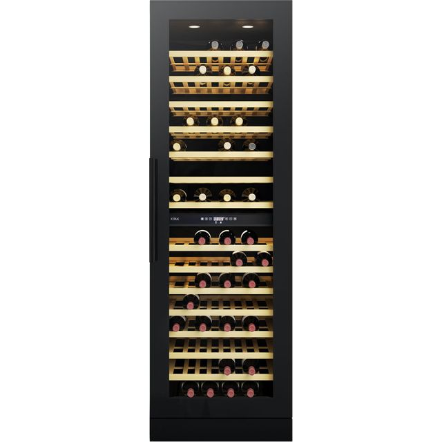 CDA FWC881BL Built In Wine Cooler - Black - G Rated