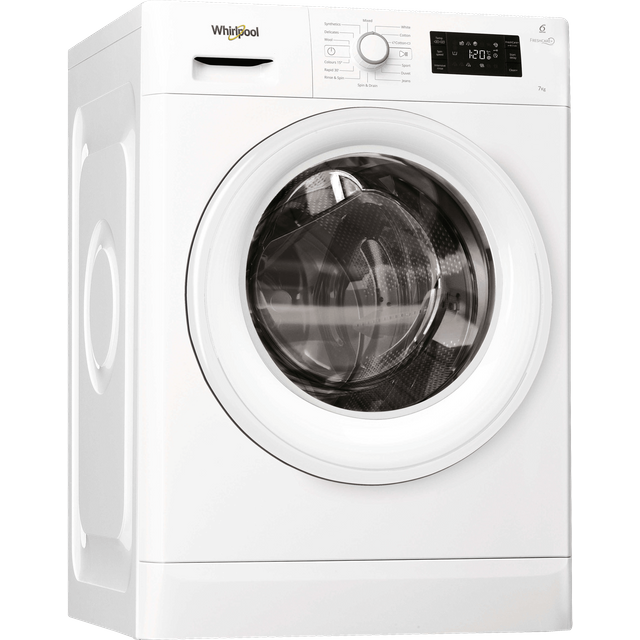 Whirlpool FWG71484W 7Kg Washing Machine with 1400 rpm - White - A+++ Rated - FWG71484W_WH - 1