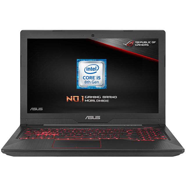 "Asus TUF FX504GD 15.6"" Gaming Laptop - Black - FX504GD-E4603T - 1"