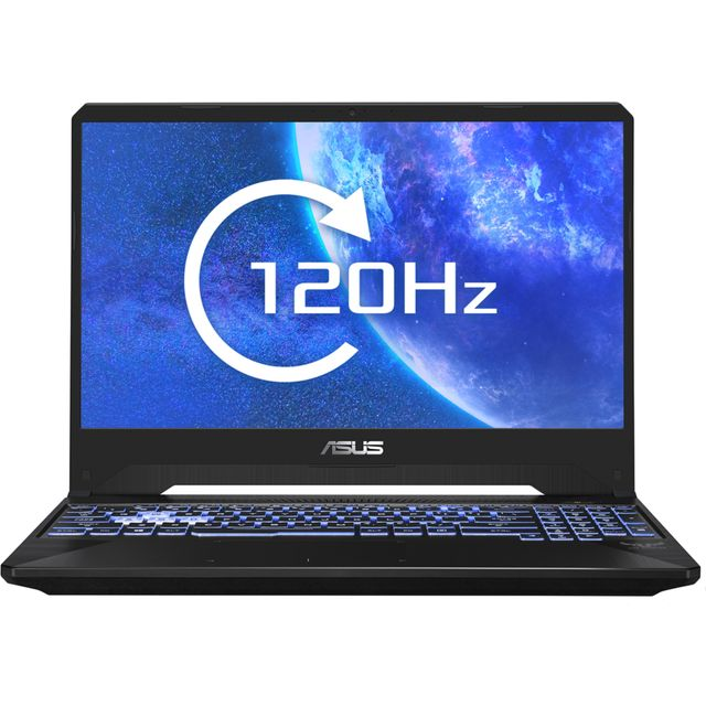 "Asus TUF FX505DT 15.6"" Gaming Laptop - Black - FX505DT-AL087T - 1"