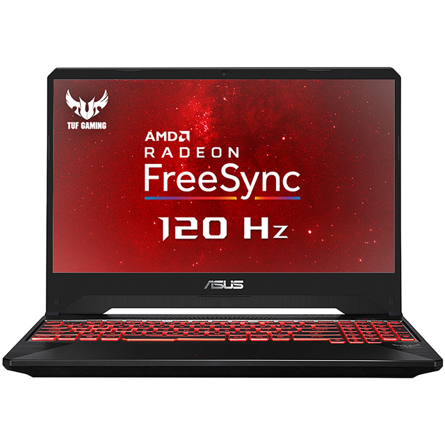 "Asus TUF FX505 15.6"" Gaming Laptop - Black - FX505DY-AL007T - 1"