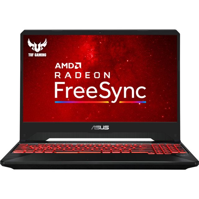 "Asus TUF FX505DY 15.6"" Gaming Laptop - Red / Black"