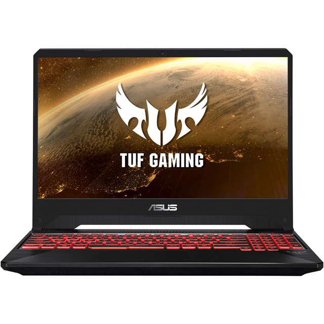 "Asus TUF FX505GE 15.6"" Gaming Laptop - Black - FX505GE-BQ159T - 1"