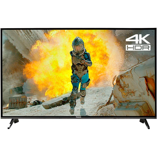 "Panasonic TX-65FX600B 65"" Smart 4K Ultra HD Certified TV with HDR and Freeview Play - Black - [A Rated]"