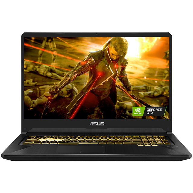 "Asus TUF FX705DU 17.3"" Gaming Laptop - Black - FX705DU-AU035T - 1"