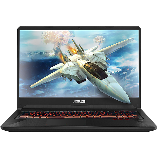 "Asus TUF FX705GE 17.3"" Gaming Laptop - Black - FX705GE-EW096T - 1"