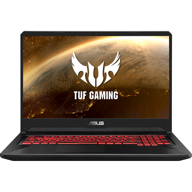 "Asus ASUS TUF Gaming 17.3"" Gaming Laptop - Black - FX705GM-EW019T - 1"