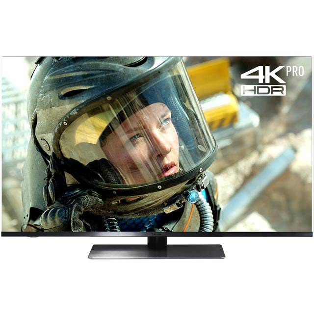 "Panasonic TX-49FX750B 49"" Smart 4K Ultra HD Certified TV with HDR and Freeview Play - Black - [A Rated]"