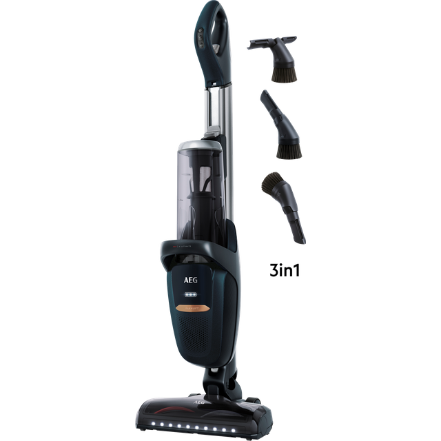 AEG FX9 Ultimate FX9-1-4ST Cordless Vacuum Cleaner with up to 60 Minutes Run Time