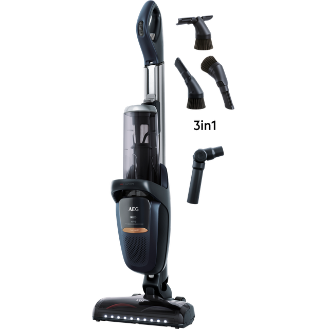 AEG FX9 Ultimate Reach FX9-1-IBM Cordless Vacuum Cleaner with up to 60 Minutes Run Time